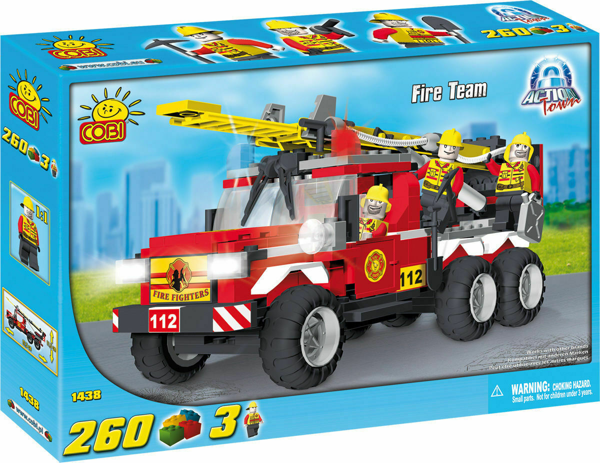 Fire Team Rescue Truck
