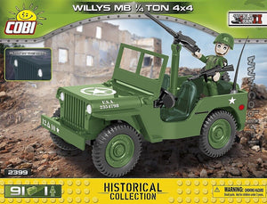 1/4 Ton Willys Army Truck 91pc