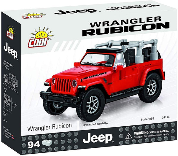 Jeep Wrangler Rubicon Red 94pc