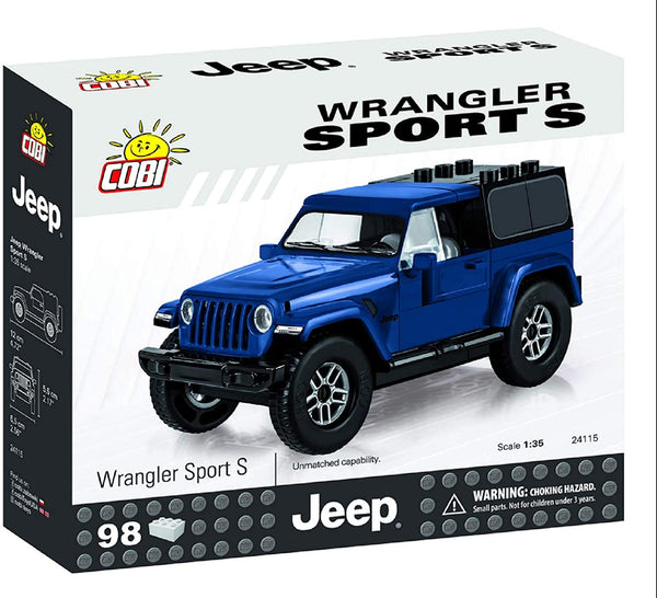Jeep Wrangler Sport S Blue 94pc