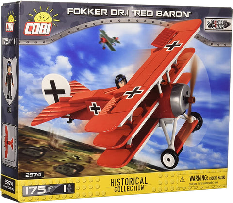 Fokker Dr1 Red Baron 175pc