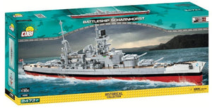 Battleship Scharnhorst 2472pc