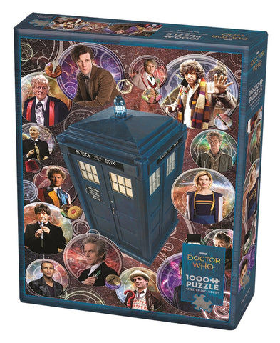 Doctor Who: The Doctors 1000pc Puzzle