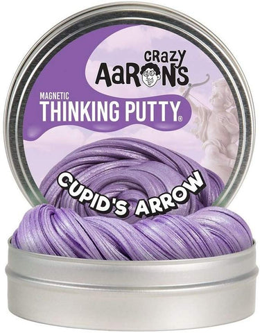 "4"" Cupid's Arrow Super Magnetic Crazy Aaron's Thinking Putty"