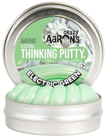 "2"" Electric Green Crazy Aaron's Thinking Putty"