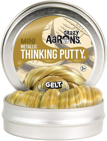 "2"" Gelt Crazy Aaron's Thinking Putty"