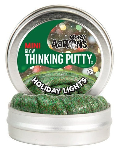 "2"" Holiday Lights Crazy Aaron's Thinking Putty"