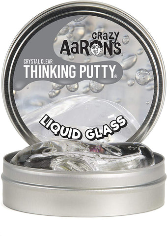 "4"" Liquid Glass Crazy Aaron's Thinking Putty"