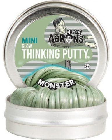 "2"" Monster Crazy Aaron's Thinking Putty"