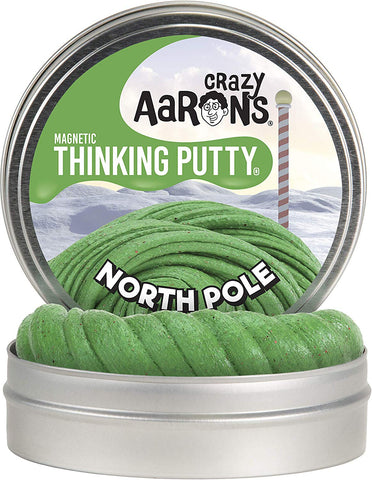 "4"" North Pole Crazy Aaron's Thinking Putty"
