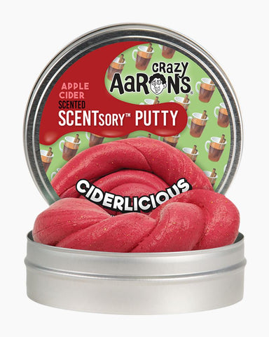 "2.75"" Ciderlicious Crazy Aaron's Scentsory Thinking Putty"