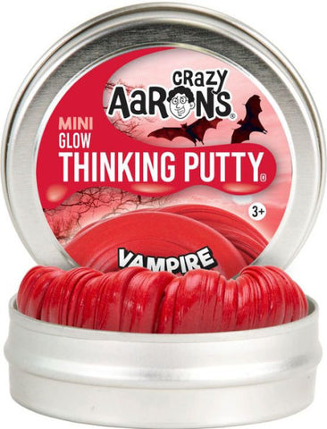 "2"" Vampire Crazy Aaron's Thinking Putty"