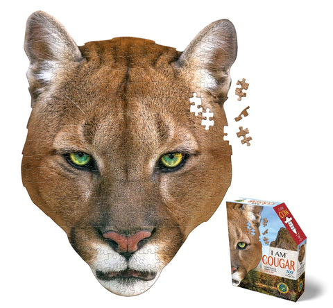 I Am Mini Cougar 300pc Puzzle