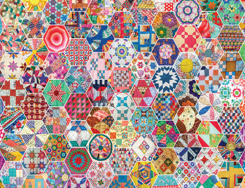 Crazy Quilts 500pc Puzzle