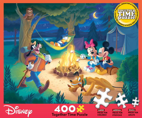 Together Time Disney Campfire 400pc Puzzle
