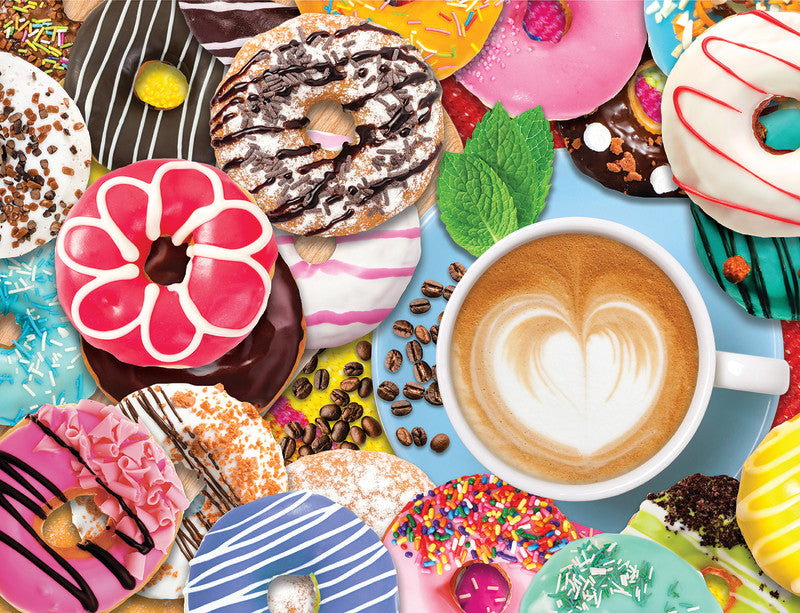 Donuts N' Coffee 500pc Puzzle