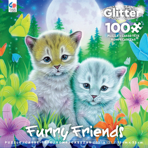 Furry Friends Cat Best Friends 100pc Puzzle