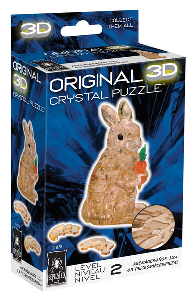 Rabbit 3D Crystal Puzzle