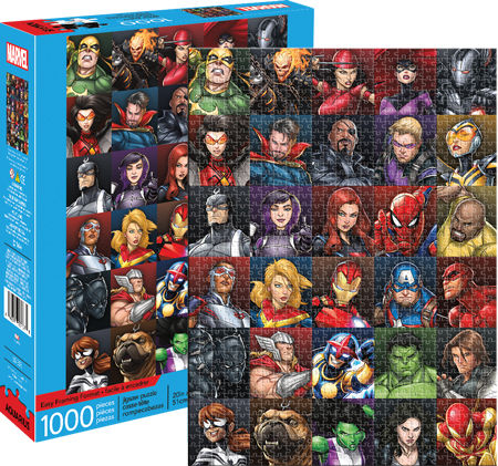 Marvel Heroes Collage 1000pc Puzzle
