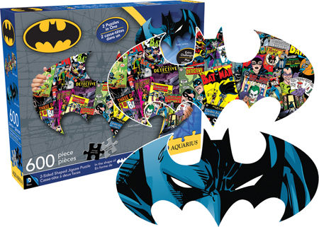 Batman Collage and Logo 600pc Puzzle