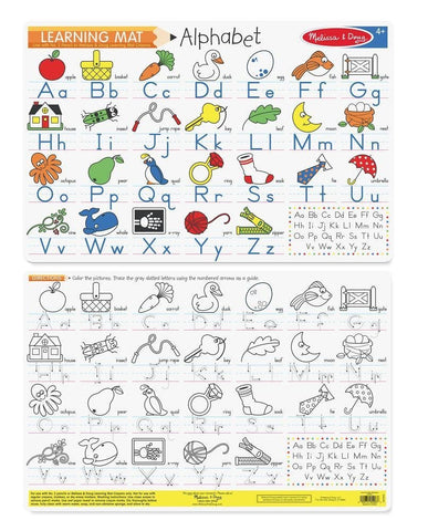 Write-A-Mat Alphabet