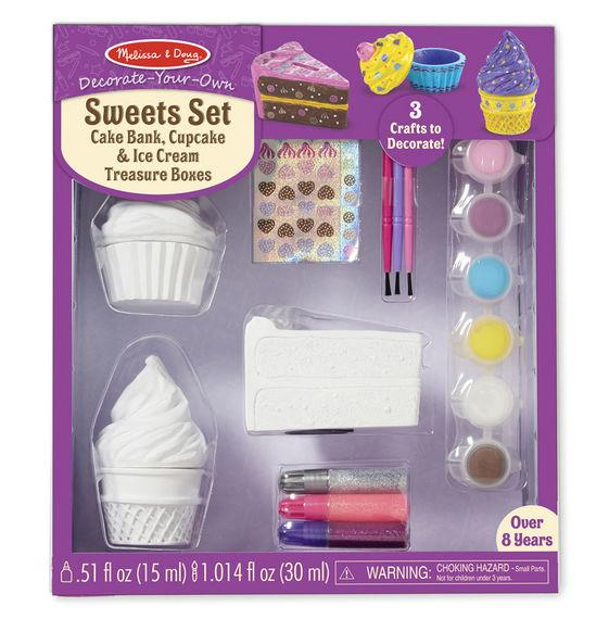 Decorate-Your-Own Sweets Craft Set