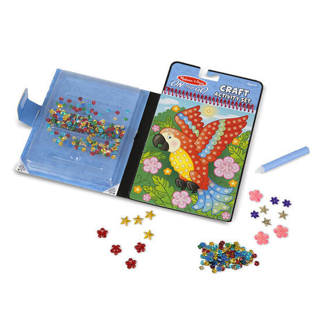 On-the-Go Sequin Scenes Activity Set Animals