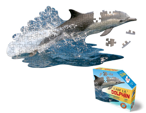 I Am Lil Dolphin 100pc Puzzle