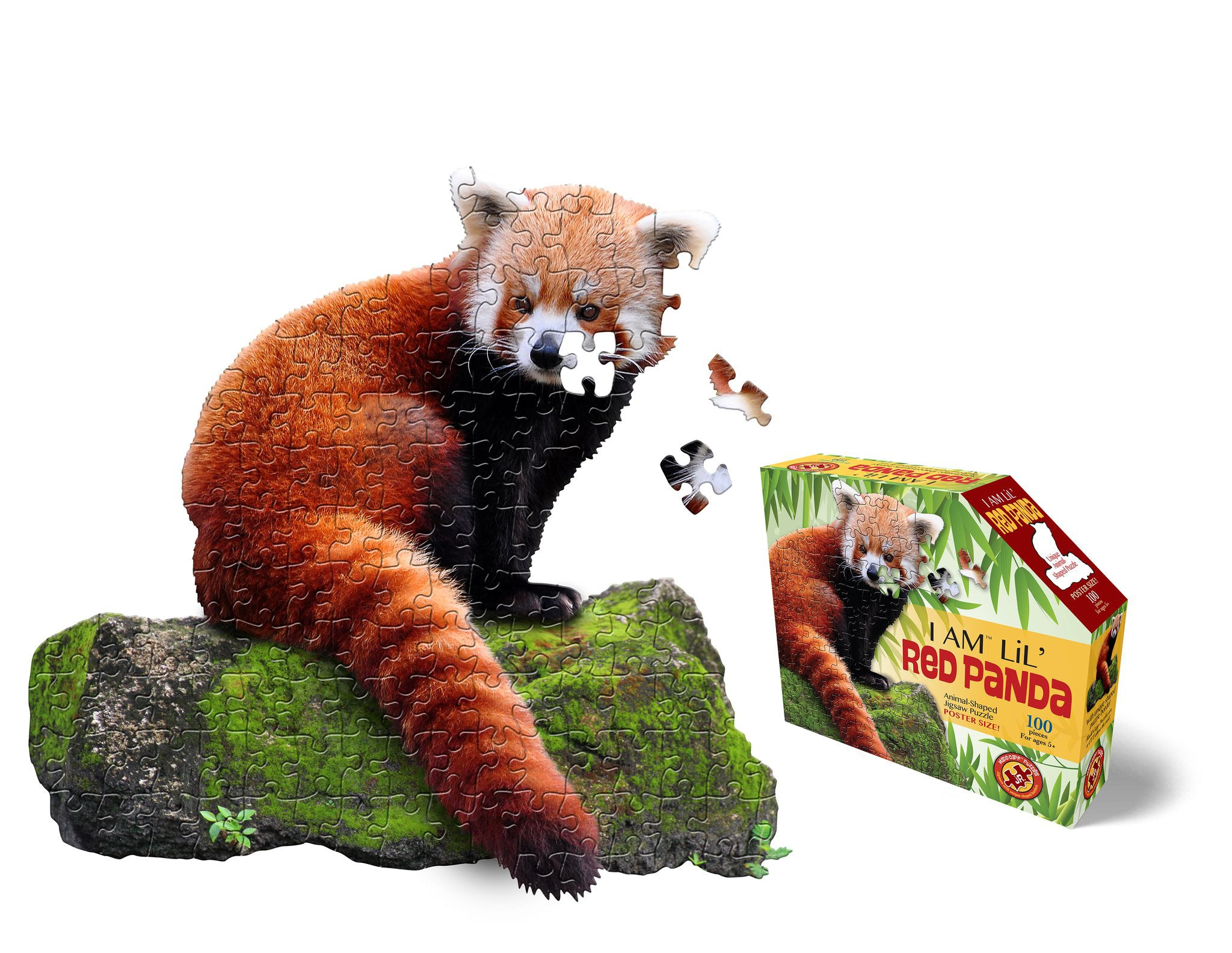 I Am Lil Red Panda 100pc Puzzle