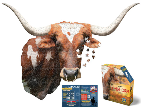 I Am Longhorn 550pc Puzzle