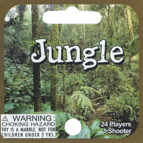 Jungle marbles (24 mibs + 1 shooter!)