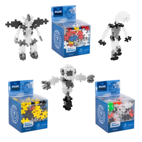 Plus Plus Mystery Maker Robots