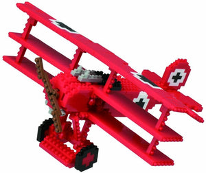 Nanoblocks The Baron Triplane