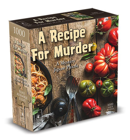 A Recipe for Murder 1000pc Mystery Puzzle
