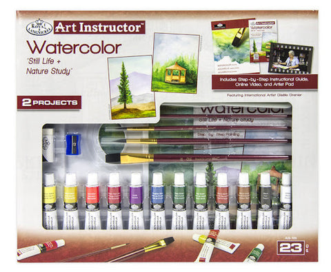 Art Instructor Watercolor Paint Set