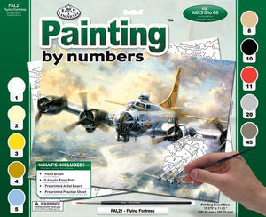 Paint By Number Adult Large Flying Fortress