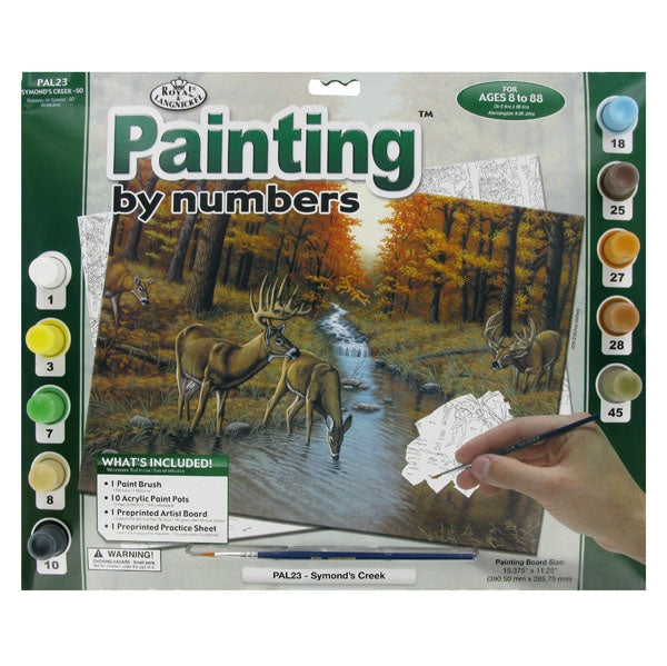 Paint By Number Adult Large Symond's Creek (Deer)