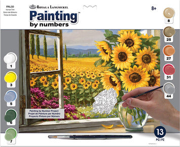 Paint By Number Adult Large Harvest Time
