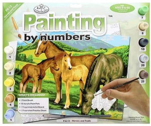 Paint By Number Junior Large Horses/Foals