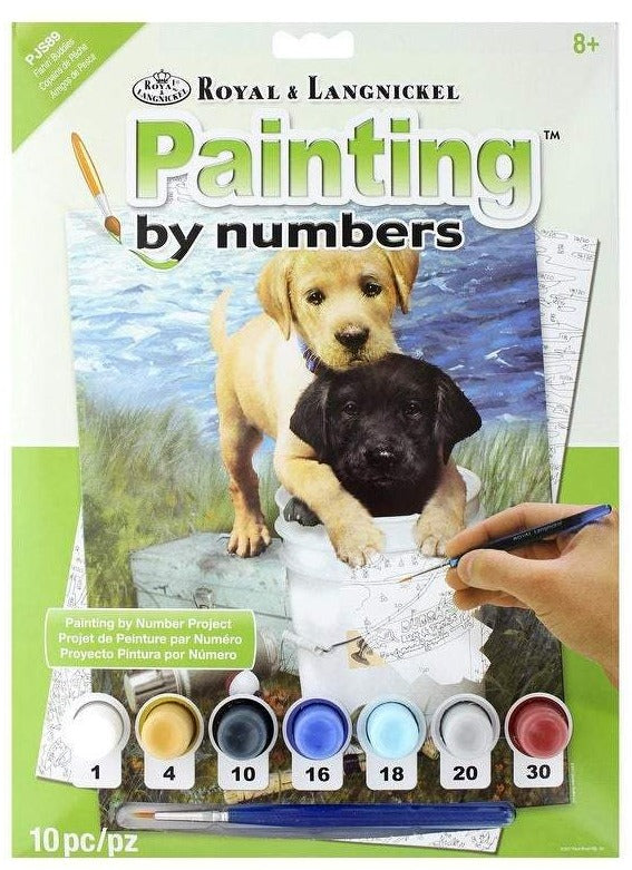 Paint By Number Junior Small Fishin' Buddies