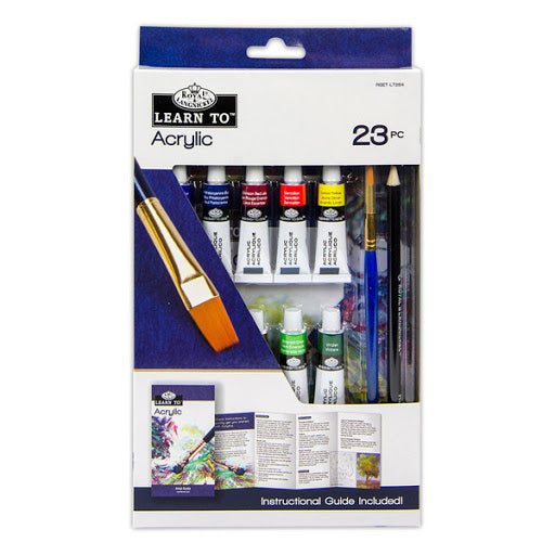Learn to Acrylic Painting 23pc