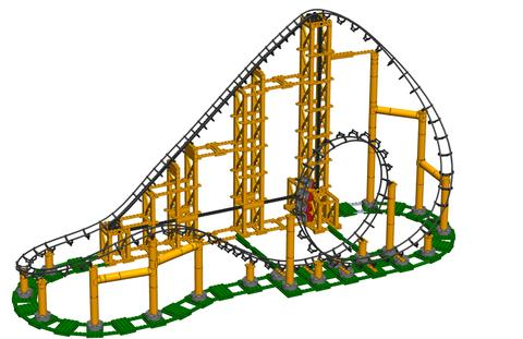 The Sidewinder Roller Coaster Kit