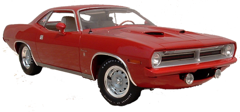 1/18 1970 Cuda DEMO Ronnie Sox