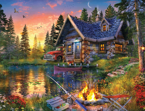 Sun Kissed Cabin 500pc Puzzle