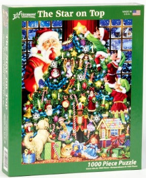 The Star on Top 1000pc Puzzle