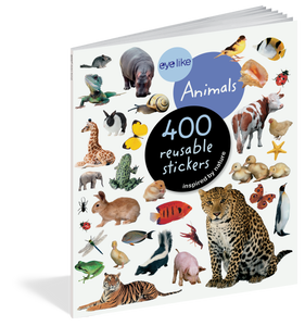 Eyelike: Animals Reusable Stickers