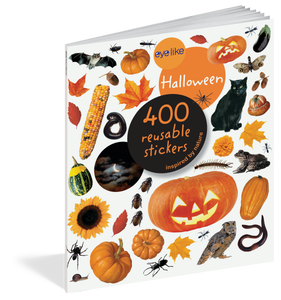 Eyelike: Halloween Reusable Stickers