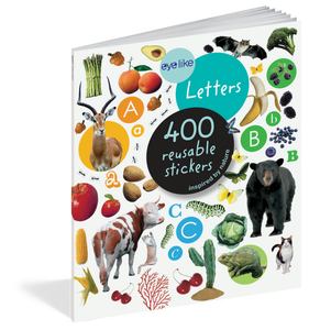 Eyelike: Letters Reusable Stickers