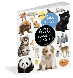 Eyelike: Baby Animal Reusable Stickers