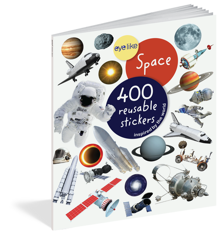 Eyelike: Space Reusable Stickers